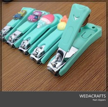 Cartoon Nail Clipper with Plastic cover 2015