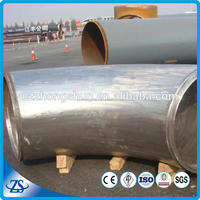 "nps 6"""" sch120 pure titan pipe fittings with water tube manufacturing"