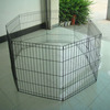 Metal Pet Fence Playpen with 8 Panels