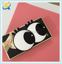 mobile phone accessories long big eyes design cell phone back cover case for 6s/6plus