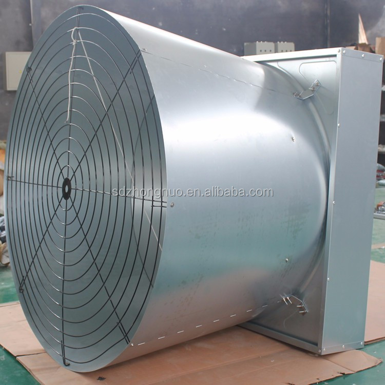 Industrial dairy farm axial ventilation air exhaust fan axial fan air blower butterfly cone fan