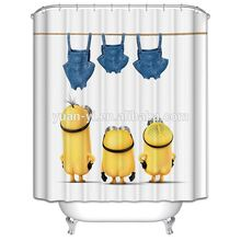 new arrival peach shower curtains
