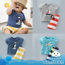 kid clothes 2016 summer fashion design baby boy sport clothes set guangzhou brand clothing korean design children bodysuit