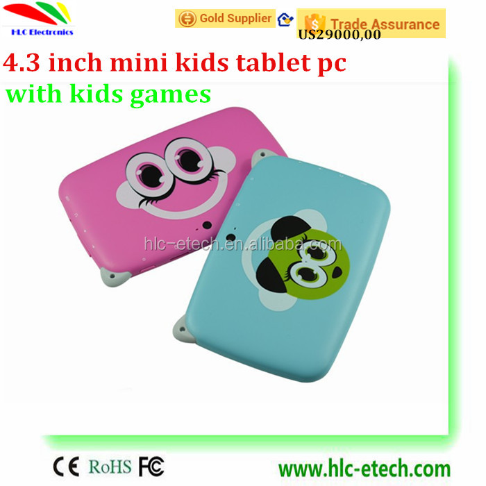 "4.3"" HD Screen Android 4.0 RK2926,ARMA9Quad-core 4GB Kid Tablet for Children OTG WiFi double Camera Google Play"