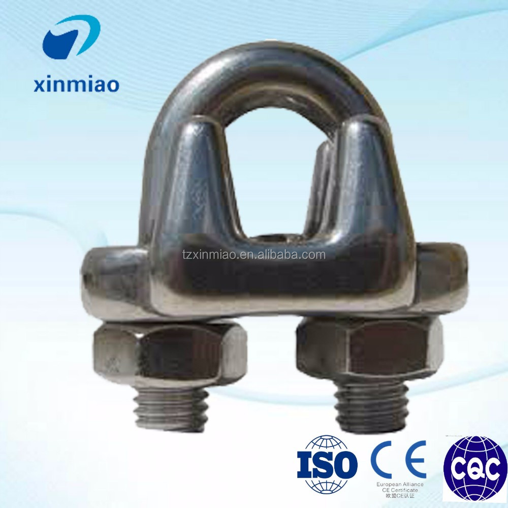 Chinese riggings US type wire rope clamps