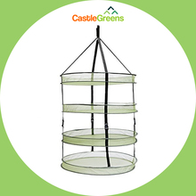 2FT 4 Layer Round Hydroponics Drying Rack Net