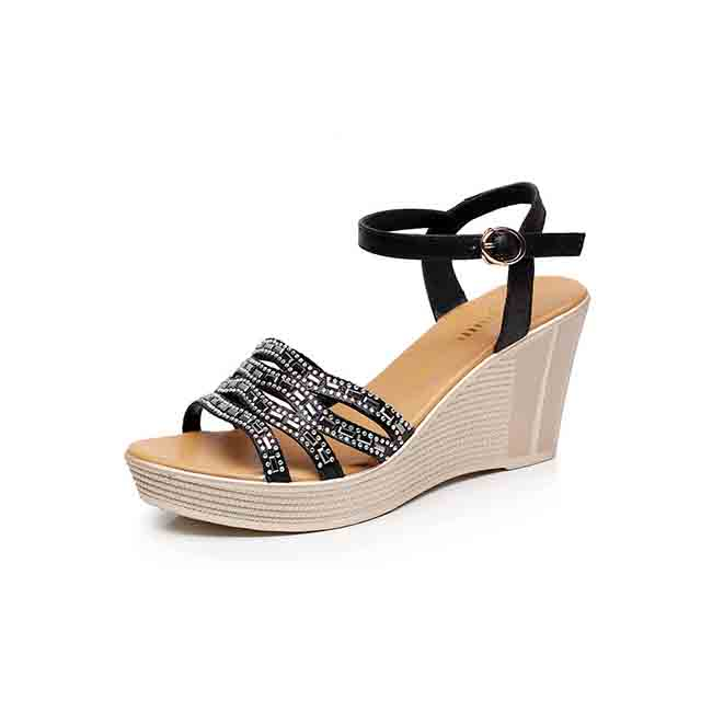 2018 Latest Design Summer <strong>Sandals</strong> For Women Peep Toe Wedge Platform Sexy <strong>Sandals</strong> Small Size Wholesale Lady High Heel <strong>Sandals</strong>