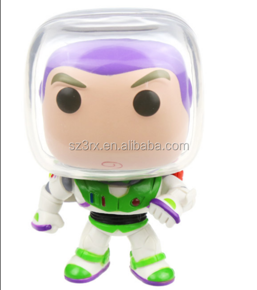 custom made own design toy factory cheaper price/custmized safe PVC funko pop toy/custom cartoon spaceman astronaut vinyl toy