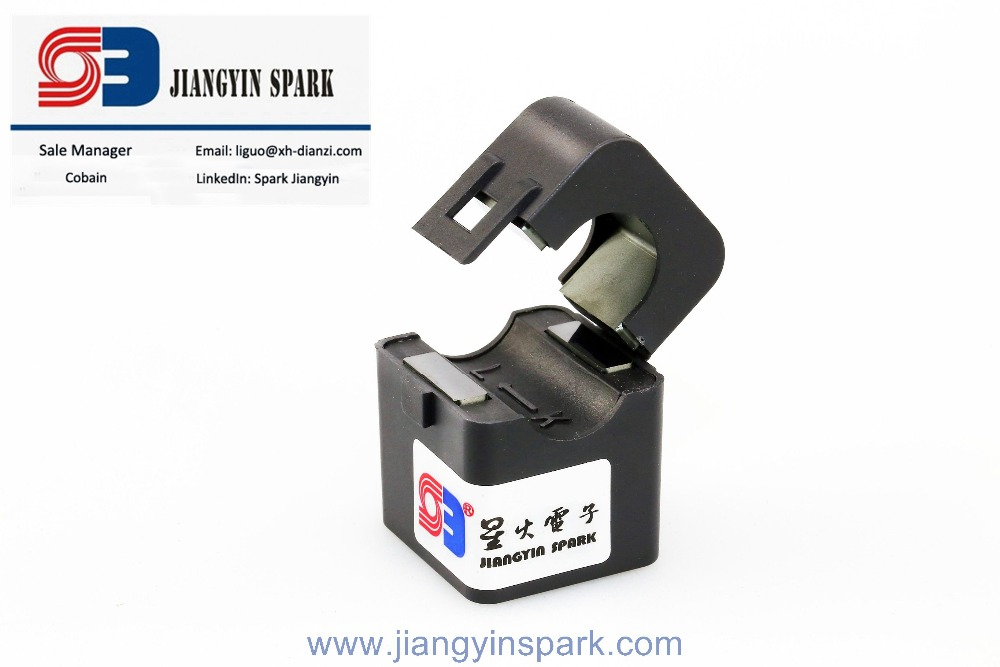High performance split core current transformer