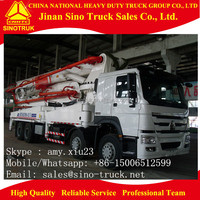 SINOTRUK pump truck / concrete pump car / concrete pump trucks sale