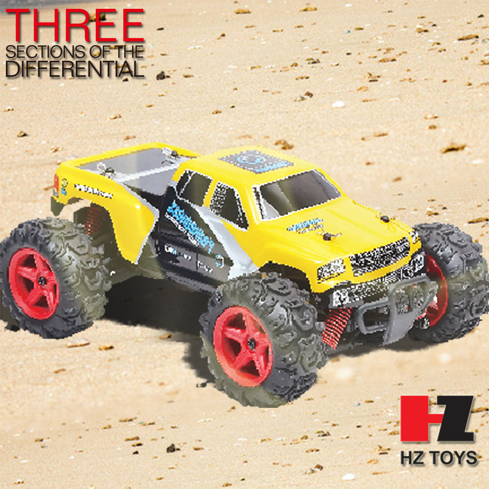 Big wheel radio control 4wd mini high speed rc car drifting