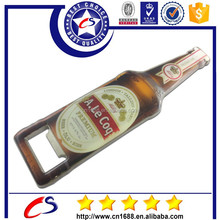 Manufacturers High-quality beer metal bottle opener with printed logo