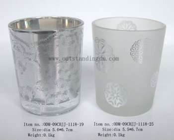 Decoration Glass Candle Jar In Wholesale Votive Candle Holder