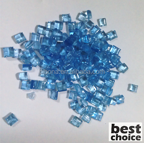 Best price ! PC Granules / Polycarbonate resin / Transparancy blule color PC for Water Bottles