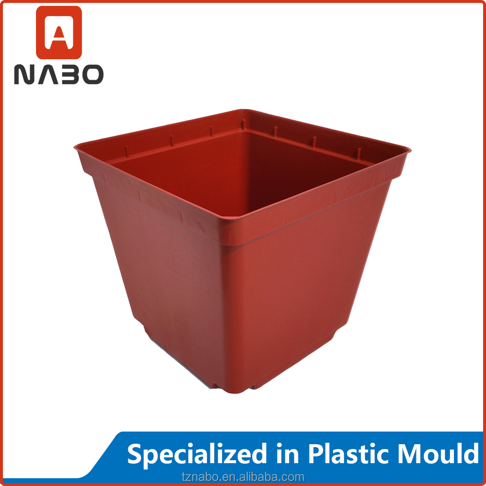 hight quality plastic garden flower pot mould made form injection molding machine