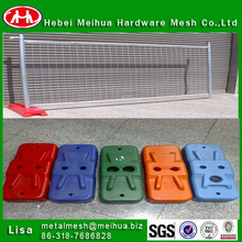 China temporary decorative fencing/good quality temporary fencing for sale