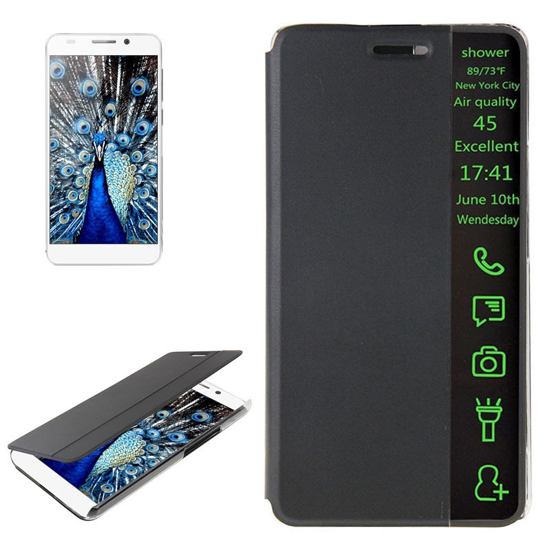 Wholesale high quality smart window flip case for samsung galaxy s4 and s5 s6