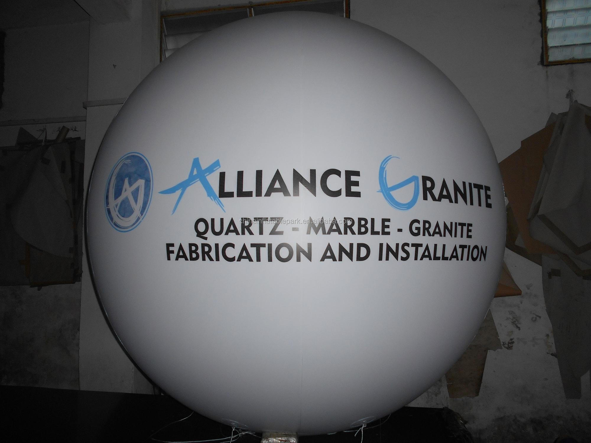 giant helium balloon for advertising outdoor inflatable balloon