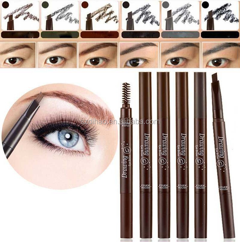 DIHAO High quality private label eyebrow pencil waterproof