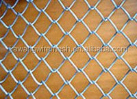 Electro galvanized chain link fence and hot dipped galvanized chain link fence