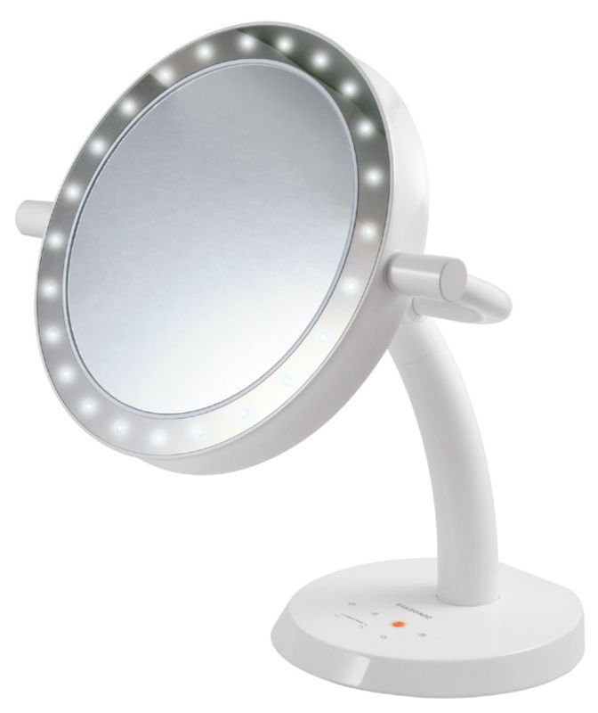 Makeup Mirror With Led Lights - Buy Led Makeup Mirror,Led Lighted ...