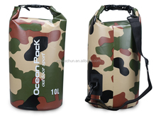 Customized Hot Sale Camouflage Floding Waterproof Dry Bag