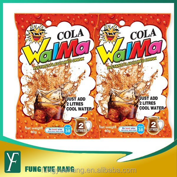 hot selling instant 60G cola taste soft drink powder