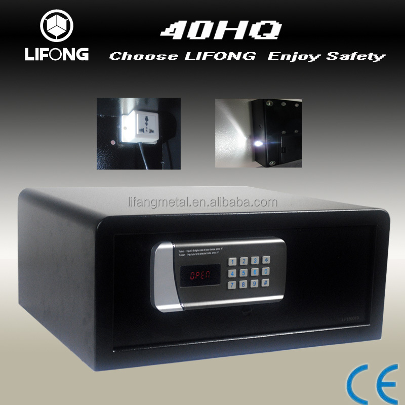 Electronic Digital hotel safety box with LED light