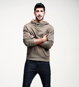 China fashion latest men hoodie, fashion men winter hoodie