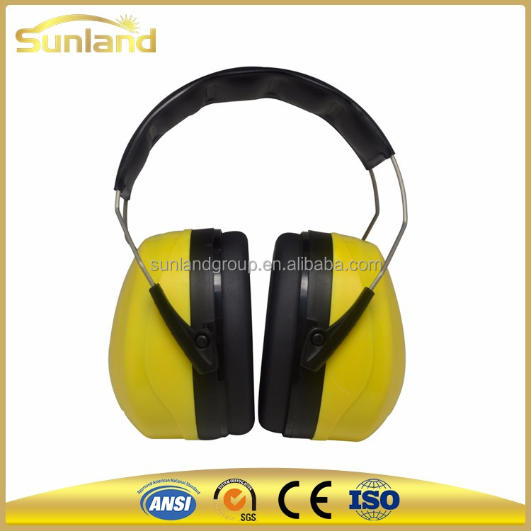 Fashionable safety sound proof ear muffs