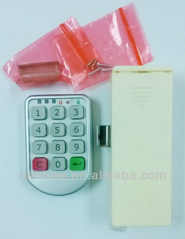 Combination cabinet lock with keypad locker lock DH-112Y