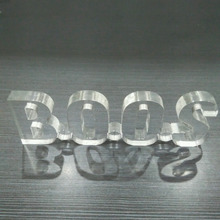 Clear 3D acrylic letter sign letter display for wholesale