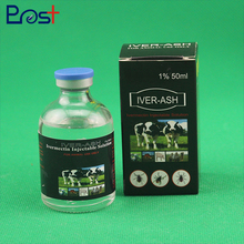 Veterinary Medicine Antiparasitic Drug Ivermectin Injection 1% 50ml