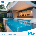PG Free Ttop Edge Clear Acrylic Swimming Pool
