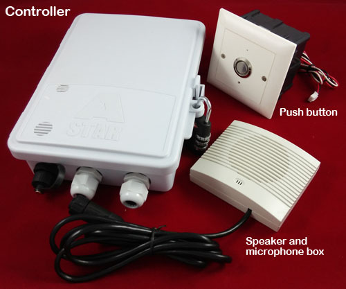 gsm audio intercom door access controller for apartment and office