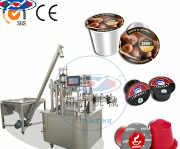 coffee capsule filling sealing machine(nepresso, K-cup,etc)