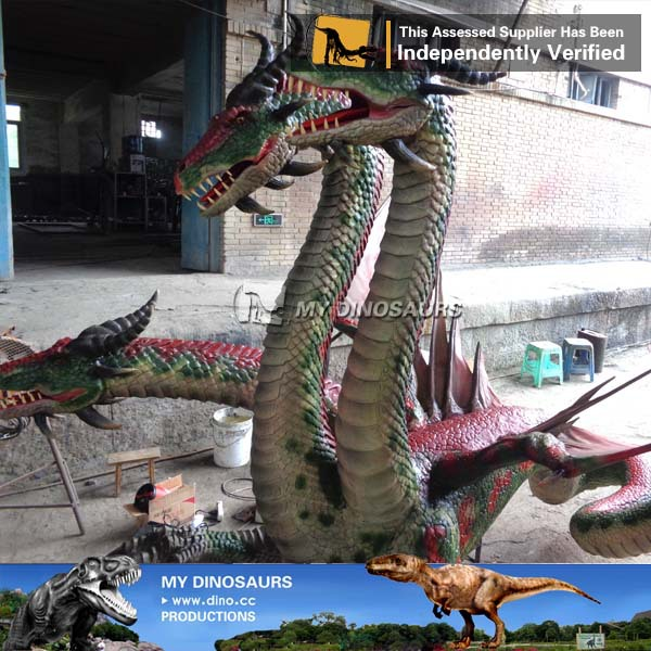 My-dino outdoor playground robotic dragon