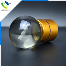 committed to serve the high-ends eco-friendly small ball shape personalized glass wine stopper
