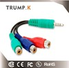 Japan av out 3.5MM stereo plug rgb dvd video player cable