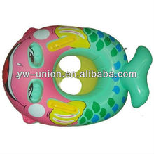 Cartoon Dolphin Design Baby Swimming Ring Toy