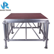 Suitable for hotel mobile aluminum stage materials for Malaysia