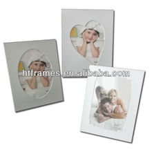 cutsom recycled white paper picture frame 4x6 5x7 8x10