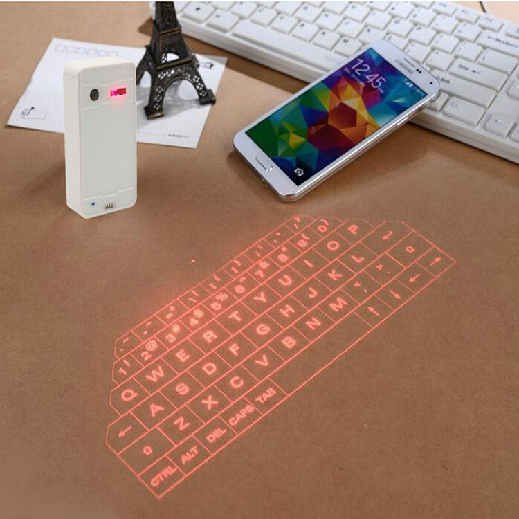 Shenzhen supplier Bluetooth infrared laser keyboard