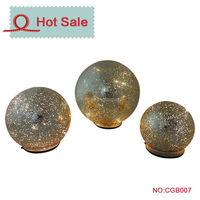 Outside festival A big lots led glass solar lighting sphere ball