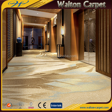 Cut pile machine tufted hotel commercial zimmer 72dpi printed corridor carpet