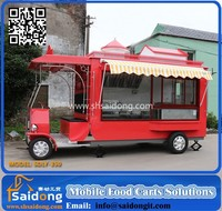 Professional Food banana Van,dinner Mobile meat cart for sale,second hand food truck