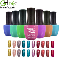 Professional 3 Steps painting popular new color gel nail varnish