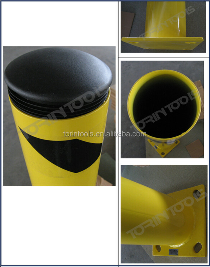 Elasticity Roadway Safety Sunproof And Durable Traffic Bollard