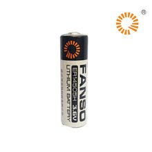 Fanso Battery Lithium Primary ER14505H 3.6V Lisocl2 Bobbin Type Batteries Lithium Thionyl Chloride Battery