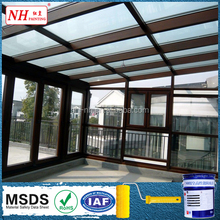 Roof thermal insulation solar reflective paint